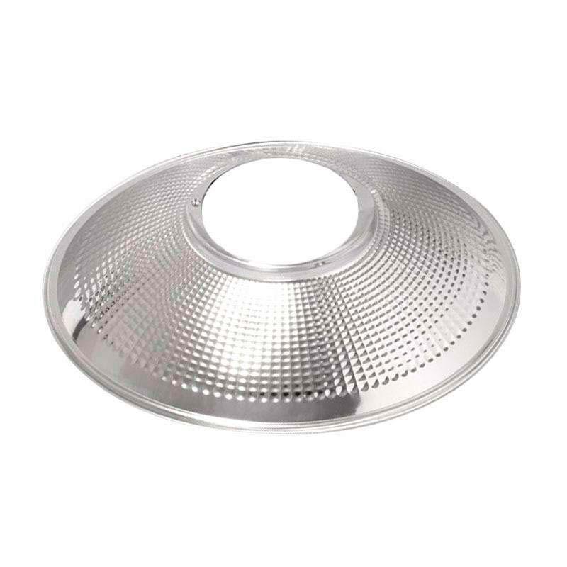 Reflector aluminio 120º para lámpara industrial, Ø142mm